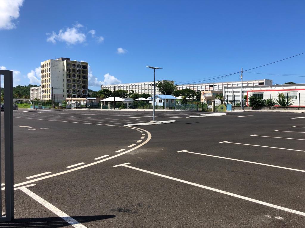 Des travaux de désamiantage à la cité scolaire de la Jetée au François