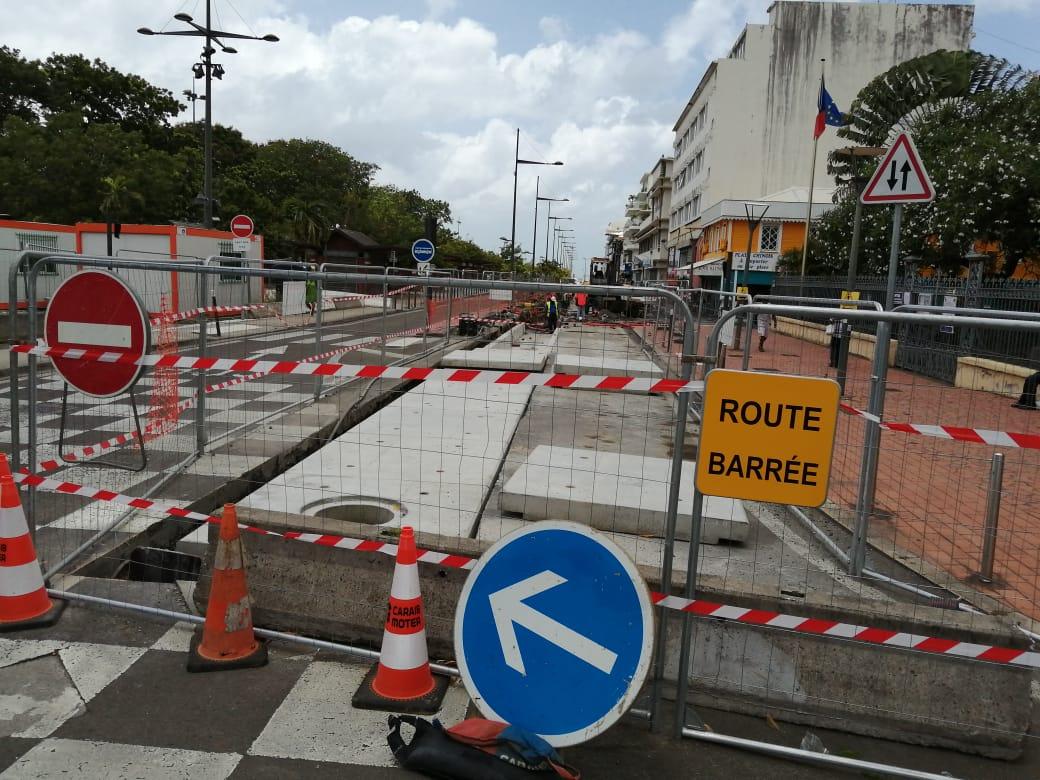 Encore pas mal de chantiers sur nos routes