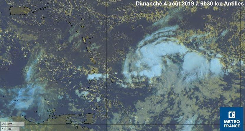 Météo : le temps va se dégrader en Martinique à partir de cette nuit