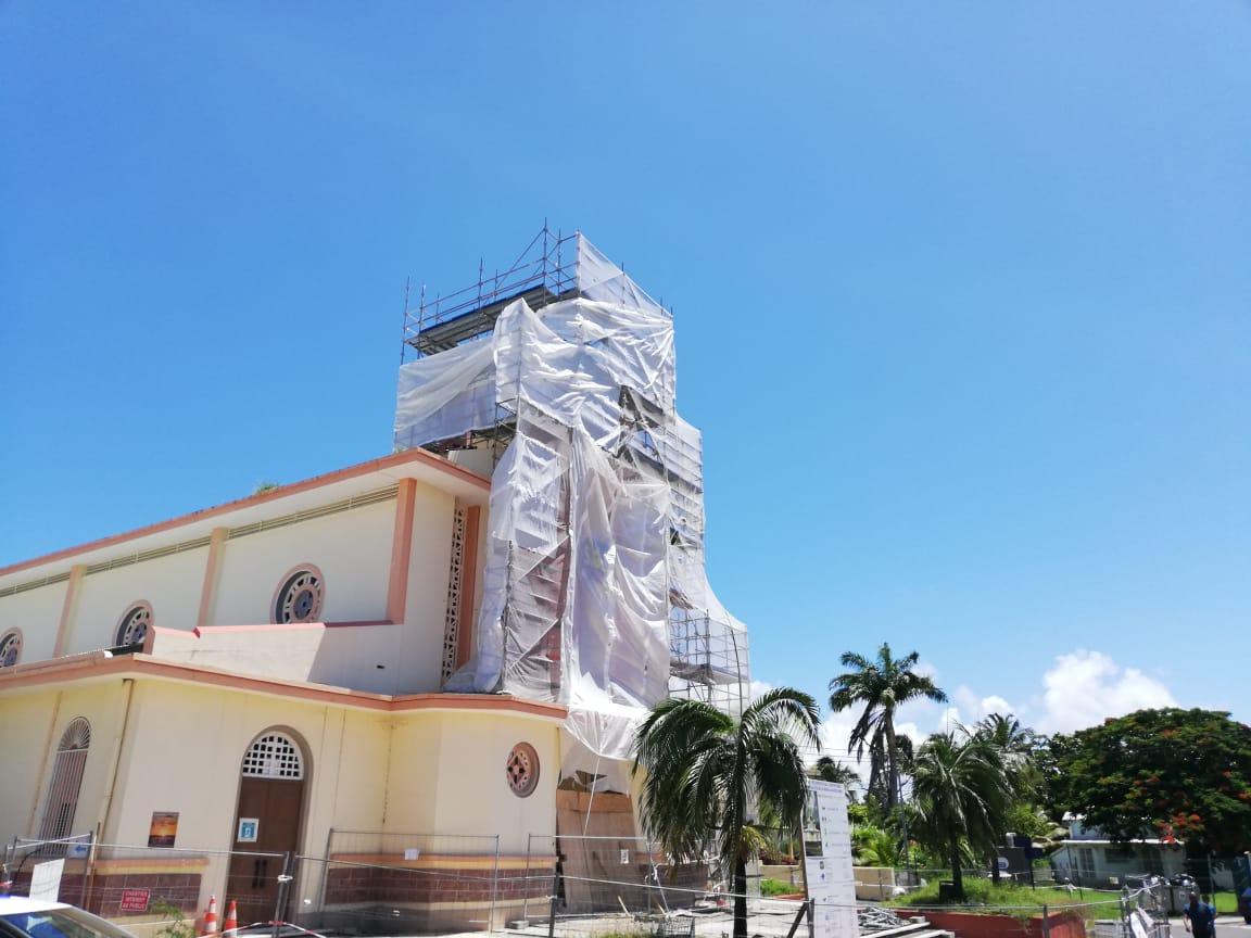 Des travaux titanesques pour rénover l'église de Sainte-Anne