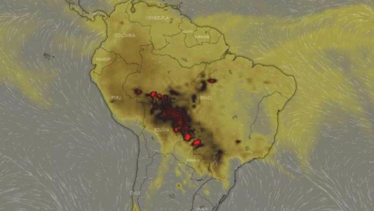 Amazonie en feu : un chercheur pointe du doigt la déforestation