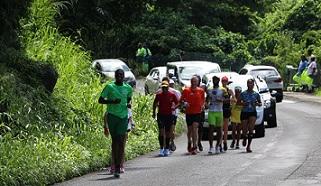 """Gwada Lolo Run:  """"Kiki Bermont va courir toute cette nuit en direction de Morne-à-L'eau"""""""