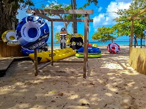 RCI Vakans': Jet Holidays, le beach-bar de  Port-Louis