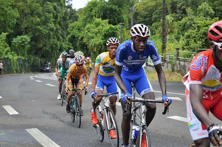 Les cyclistes martiniquais sont arrivés en Guadeloupe pour le tour cycliste international