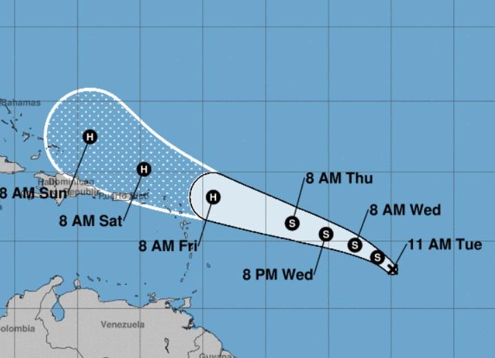 La dépression tropicale 10 est née