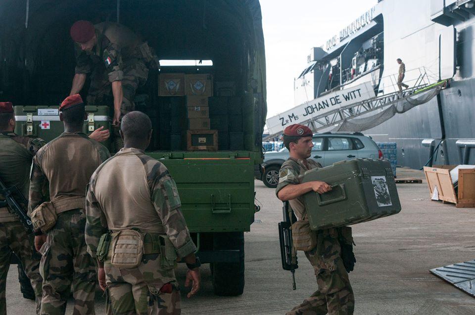 Dorian : une dizaine de soldats français aux Bahamas