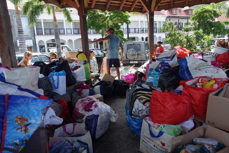 Quand les sinistrés d'Irma viennent en aide aux rescapés de Dorian