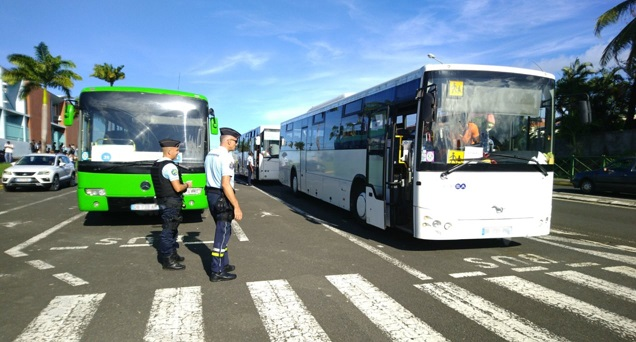 Plusieurs transports scolaires contrôlés et en infraction