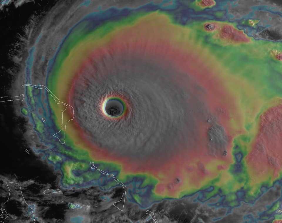 L'ouragan Dorian rétrogradé en catégorie 4 mais toujours dangereux