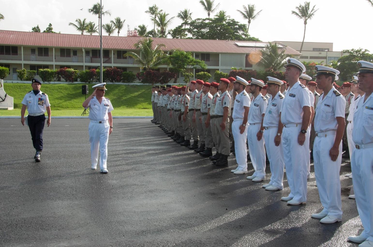 Jean Hausermann, nouveau commandant des Forces Armées aux Antilles