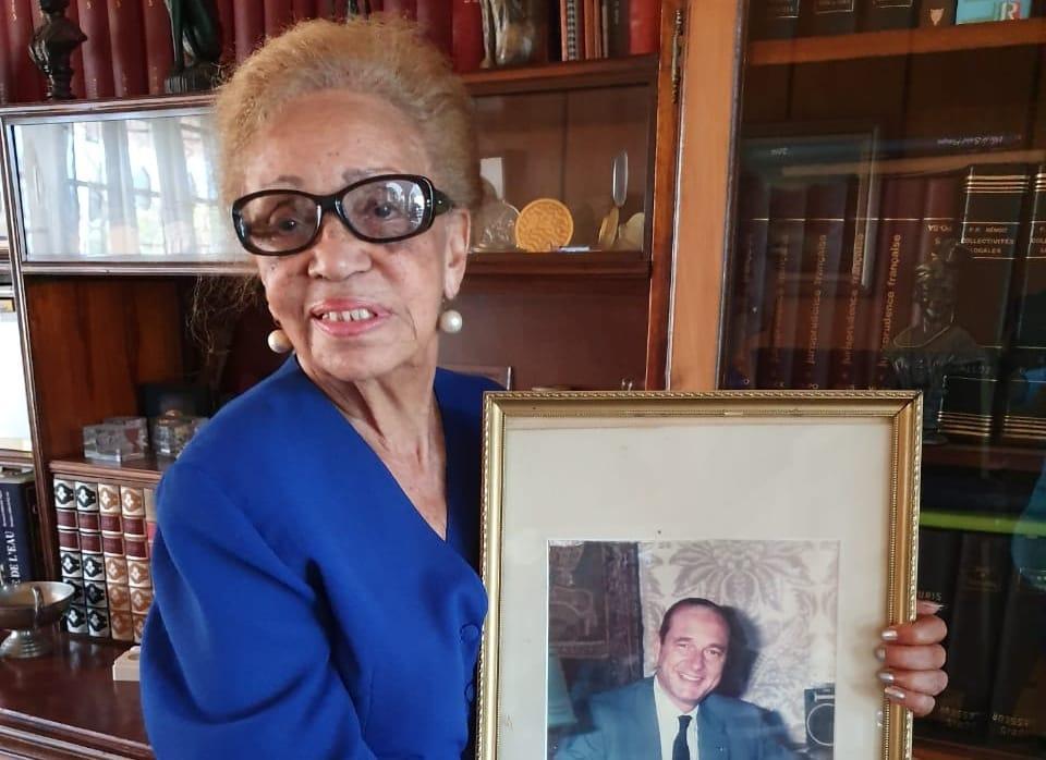 """Lucette Michaux Chevy : """"Avec Chirac on perd un authentique guadeloupéen"""""""