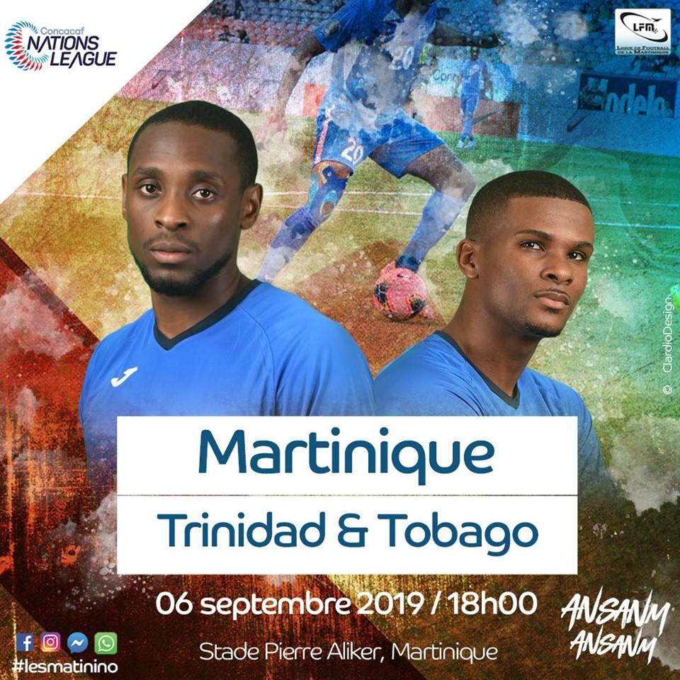 Concacaf Nations League : la Martinique entre en lice face à Trinidad & Tobago