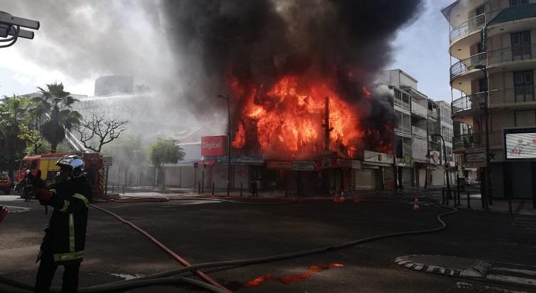 Un incendie important s'est déclaré rue Frébault