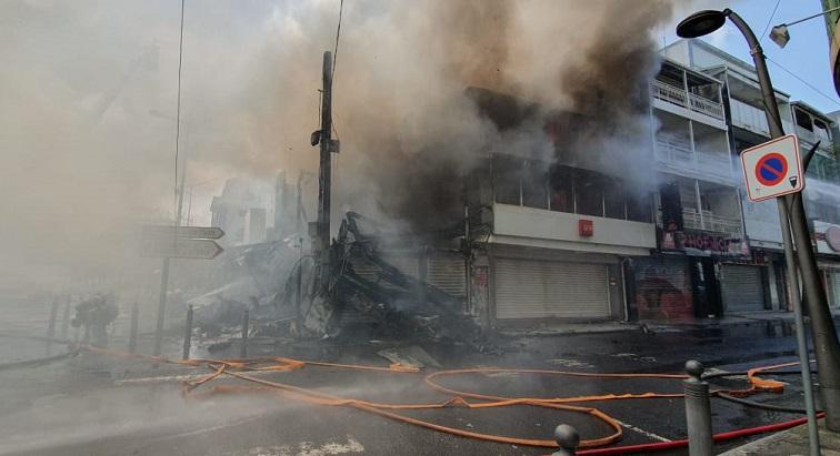 L'incendie de Pointe-à-Pitre a été circonscrit
