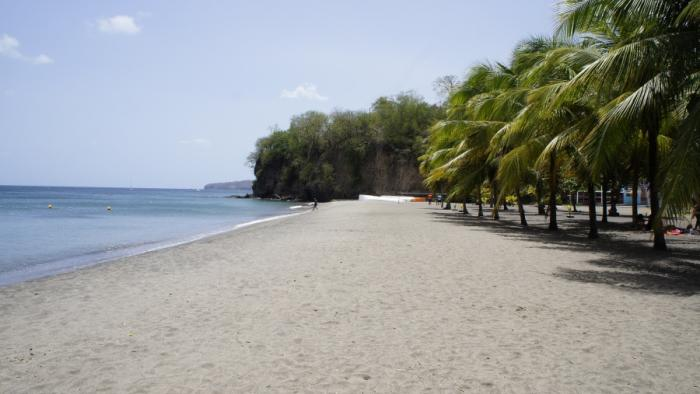 Pas de baignade sur la plage de Madiana jusqu'à nouvel ordre