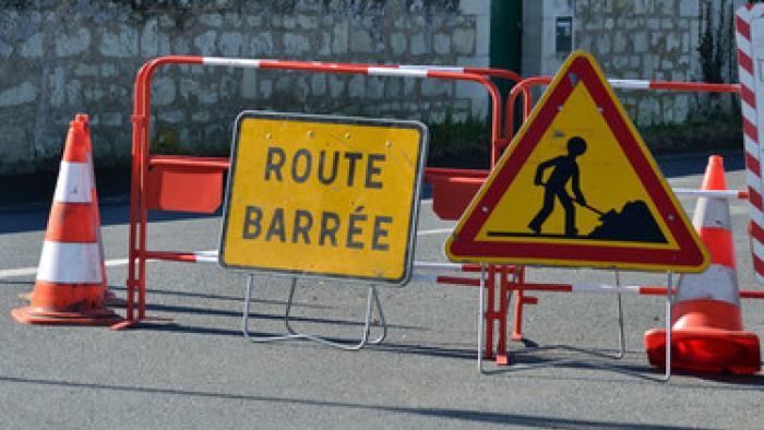 Gourbeyre : réouverture de la route de Rivière Sens