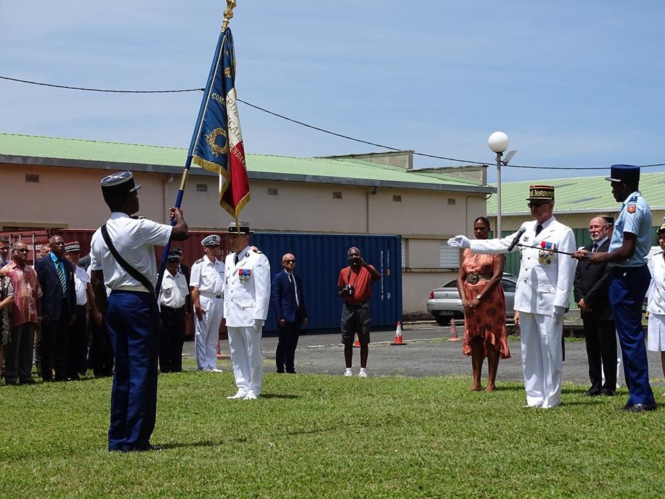 Le colonel Thierry Renard prend officiellement le commandement