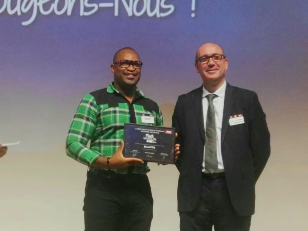 Richard Trèfle remporte les Trophées PME RMC