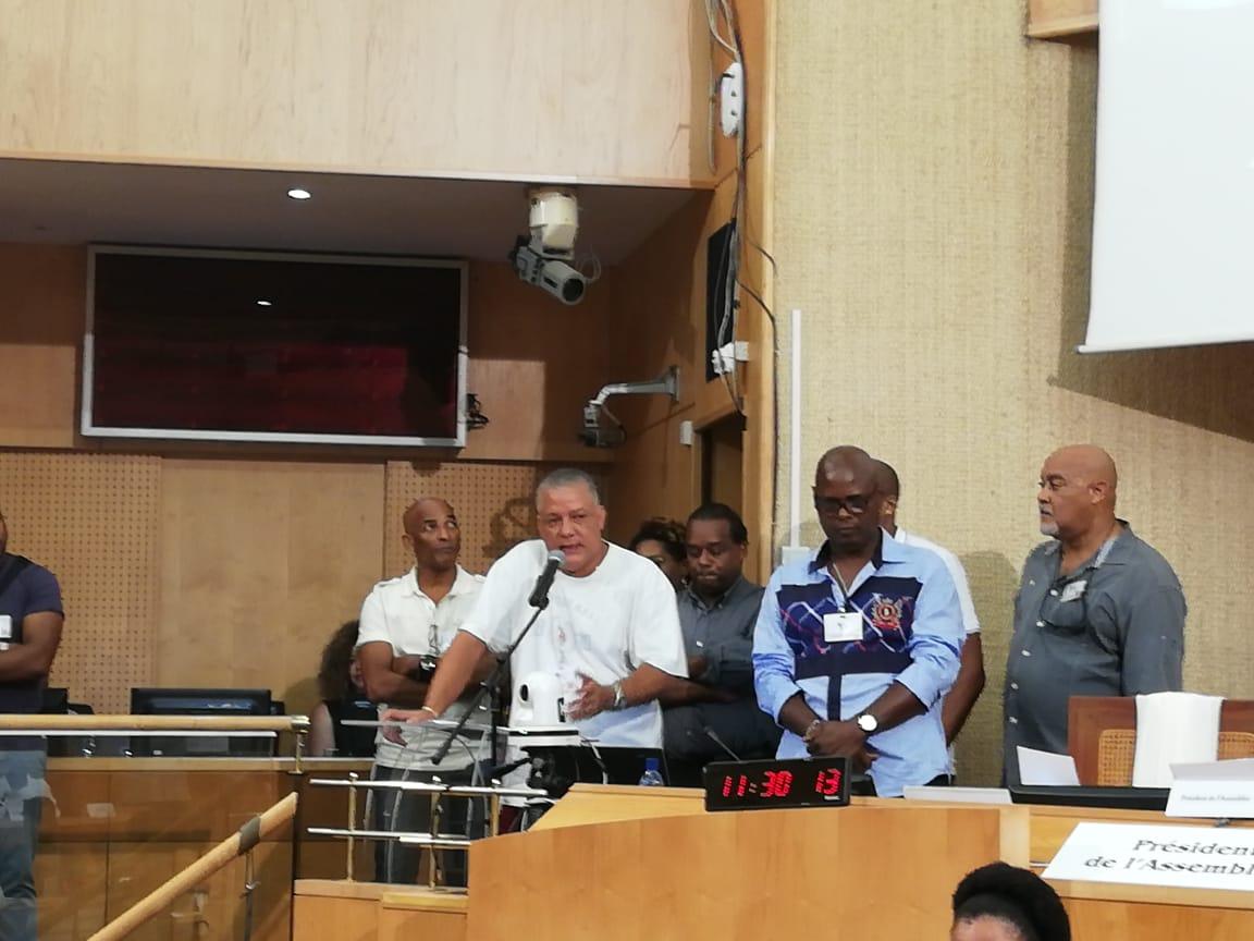 Séance plénière de la CTM : les syndicats de police de nouveau face aux élus
