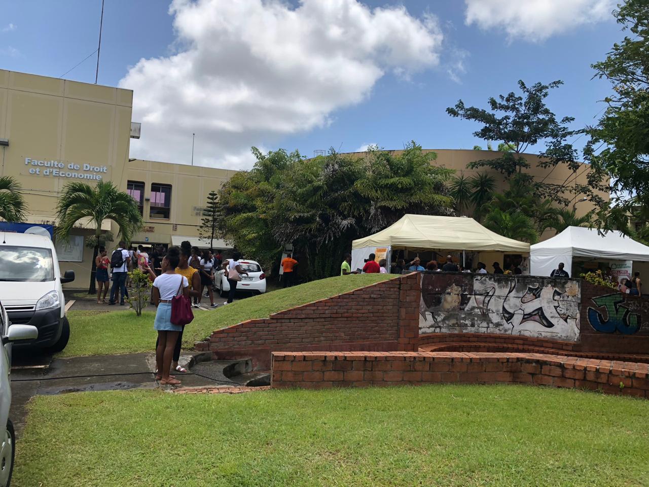 L'université des Antilles accueille ses nouveaux inscrits