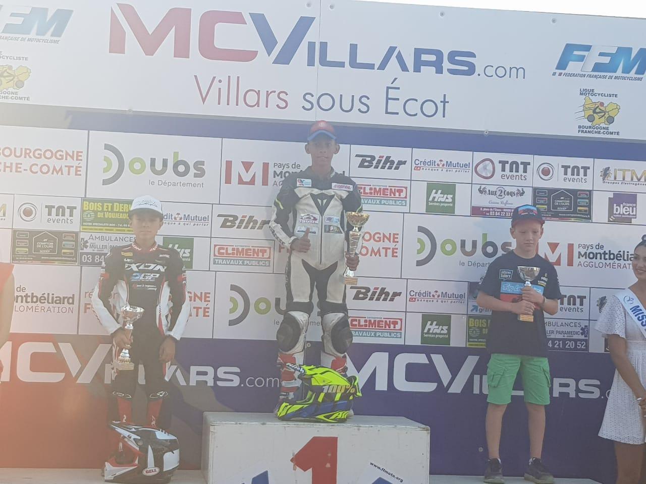 Giani Catorc est champion de France dans la catégorie S4