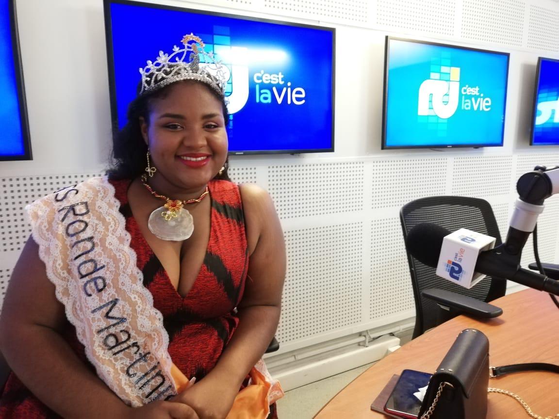 Julie Nourel est Miss Ronde 2019