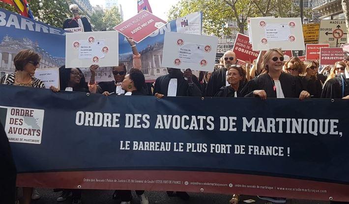 Les avocats de Martinique sont mobilisés contre la réforme des retraites