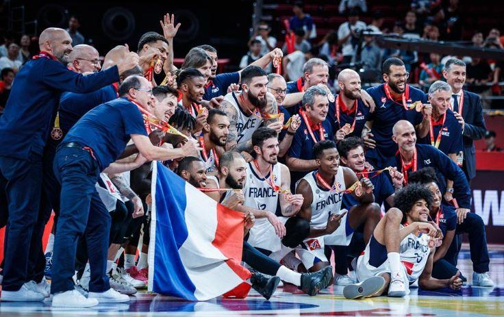 Les basketteurs français remportent le bronze à la Coupe du Monde en Chine