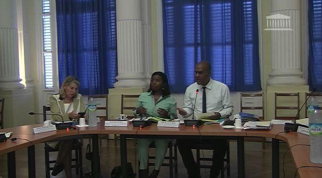 Dernières auditions en Martinique pour la commission d'enquête parlementaire sur le chlordécone