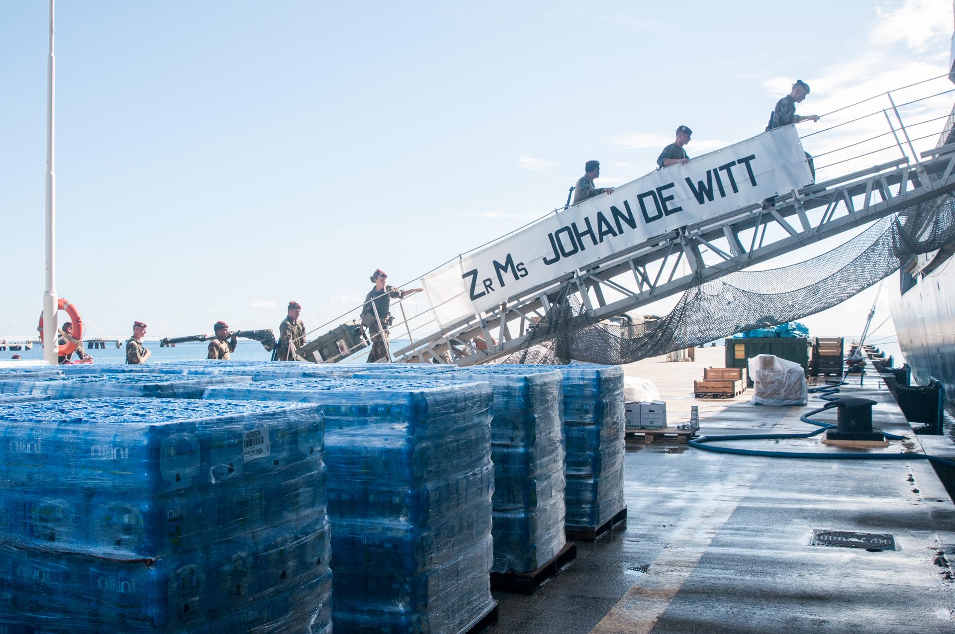 Les forces armées aux Antilles vont être déployées pour venir en aide à la population des Bahamas