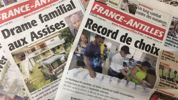 Toujours pas de repreneur pour le quotidien France-Antilles
