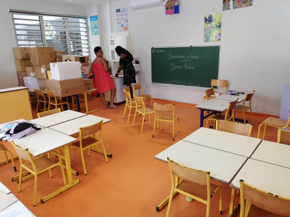 Covid-19 à l'école : 62 élèves et 33 personnels positifs