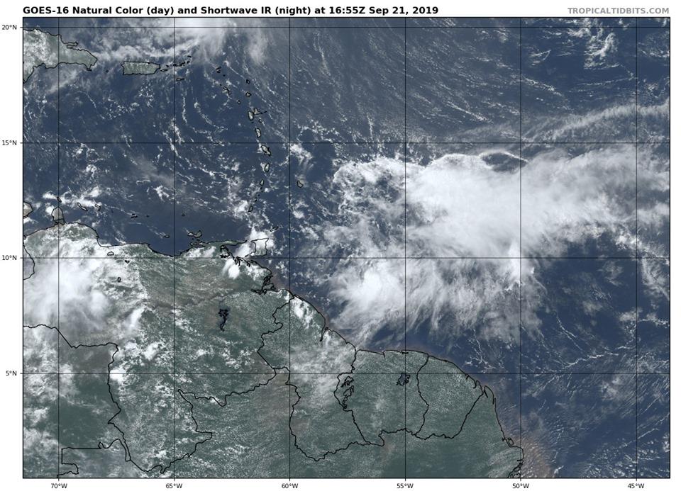 Une dégradation significative du temps attendue avec le passage d'une onde tropicale active