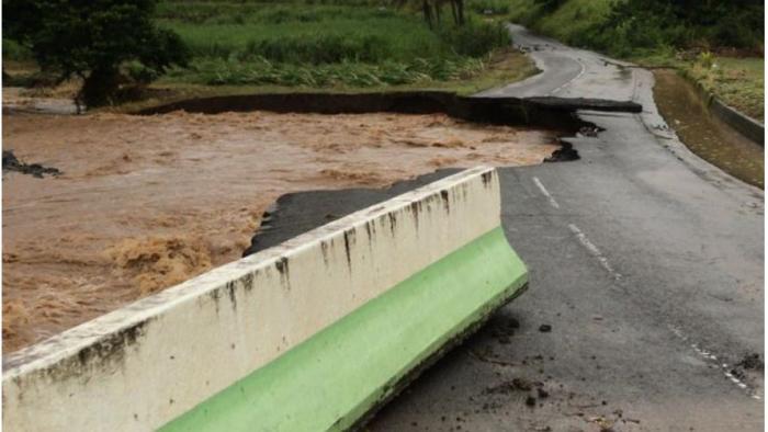 RN8 à Rivière-Pilote : les travaux sont terminés, mais la route n'est pas encore ouverte