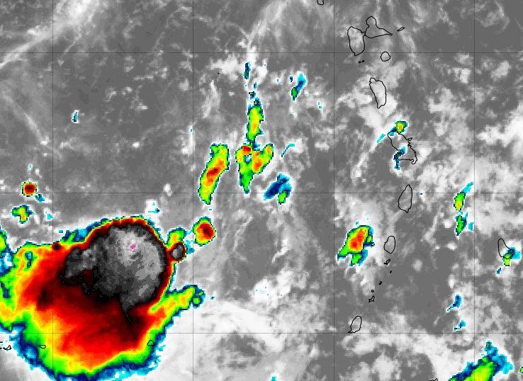 La Martinique reste en vigilance jaune, la tempête Karen remonte vers le nord de la Caraïbe