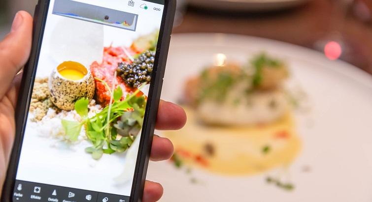 Apprenez à photographier vos plats au restaurant
