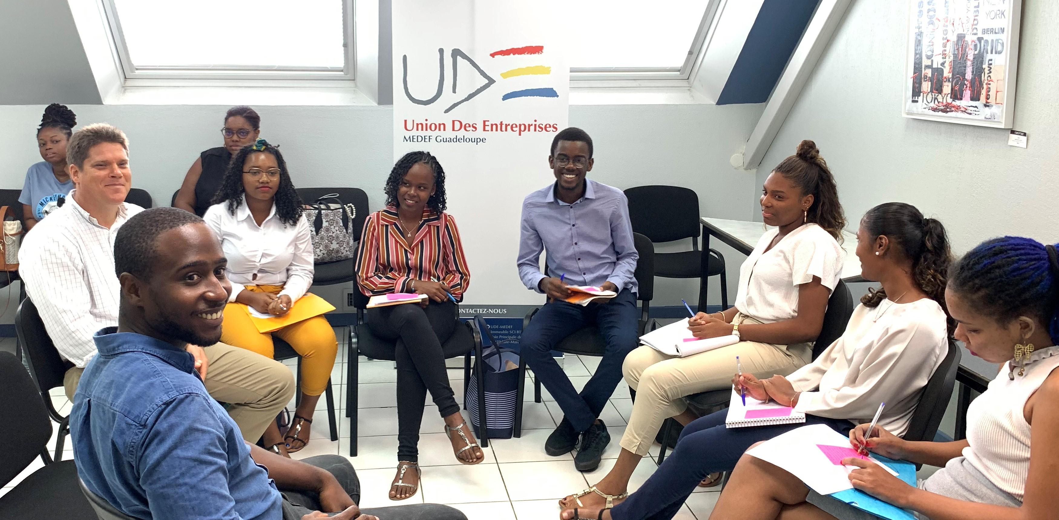 Le MEDEF Guadeloupe mise sur la jeunesse guadeloupéenne