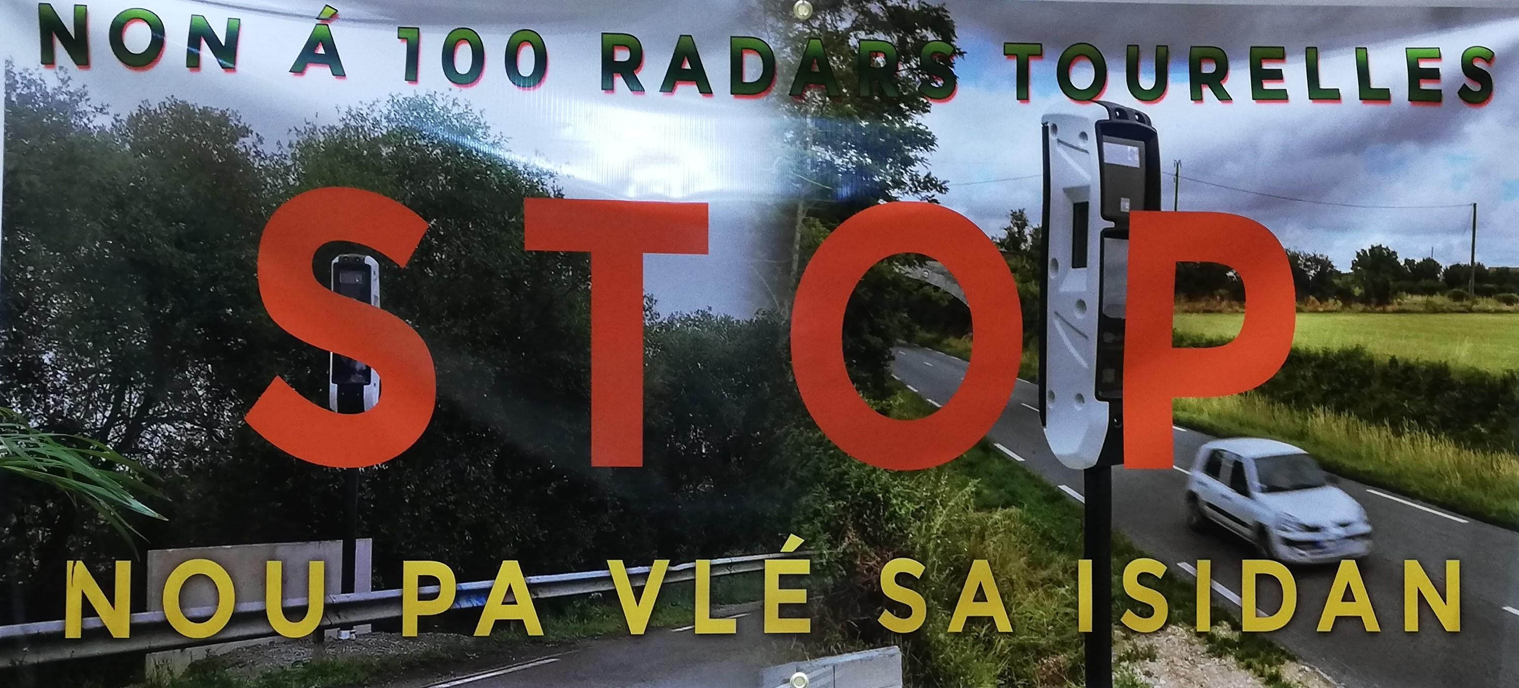 Collectif Sentinelle Guadeloupe : non aux 100 radars tourelles
