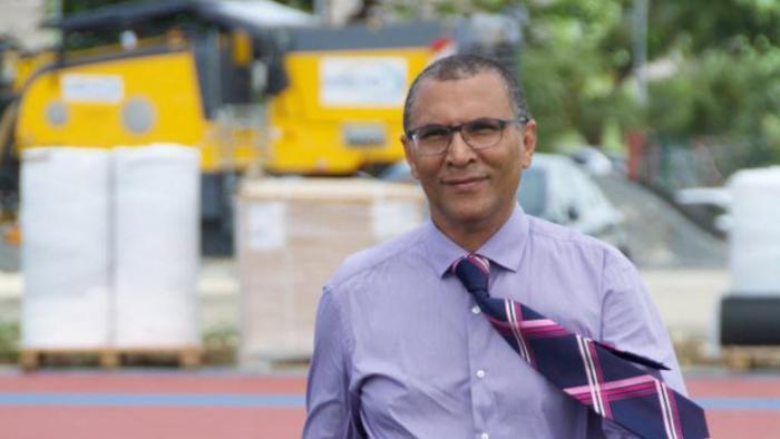 Jacques Bangou est candidat à Pointe-à-Pitre