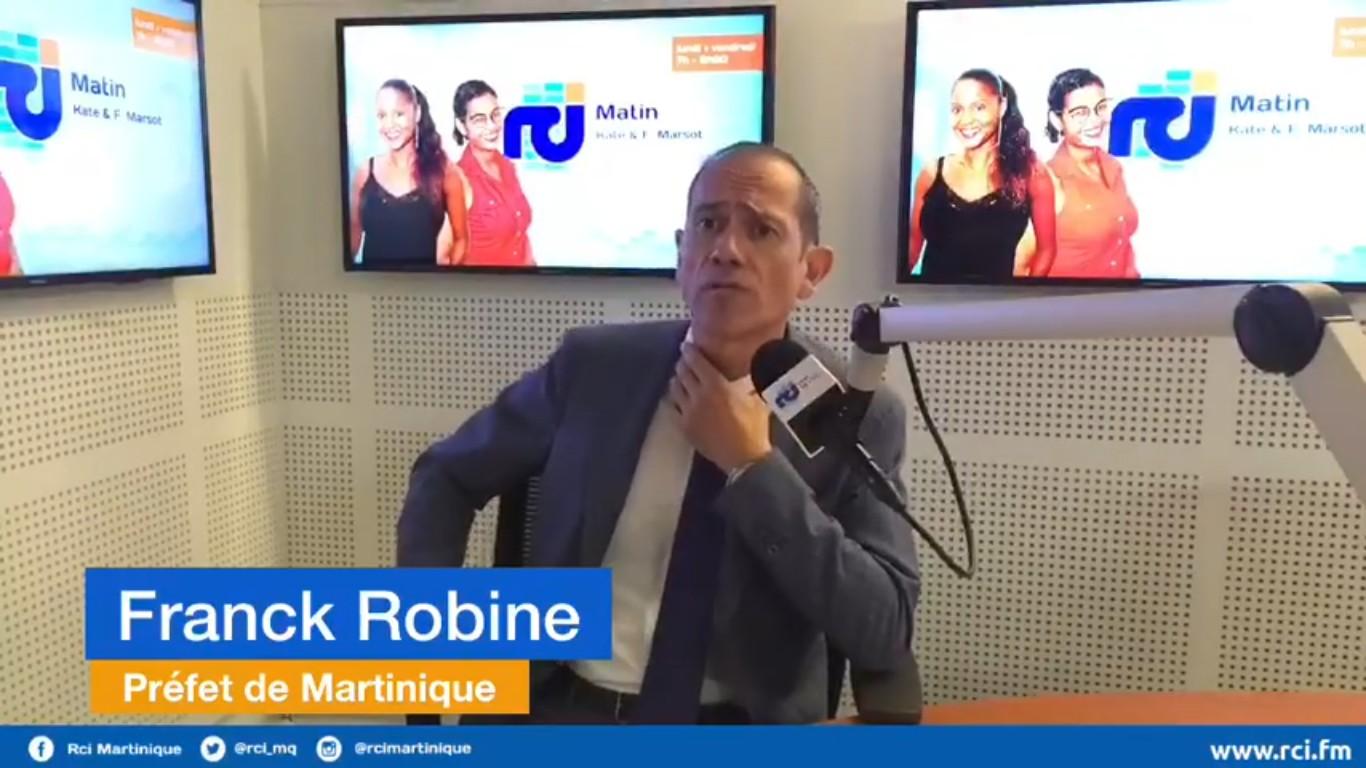 """Le Préfet Franck Robine s'élève contre """"les blocages illégaux dans les centres commerciaux."""""""