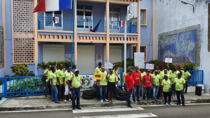 Le mouvement de grève au Marin se poursuit