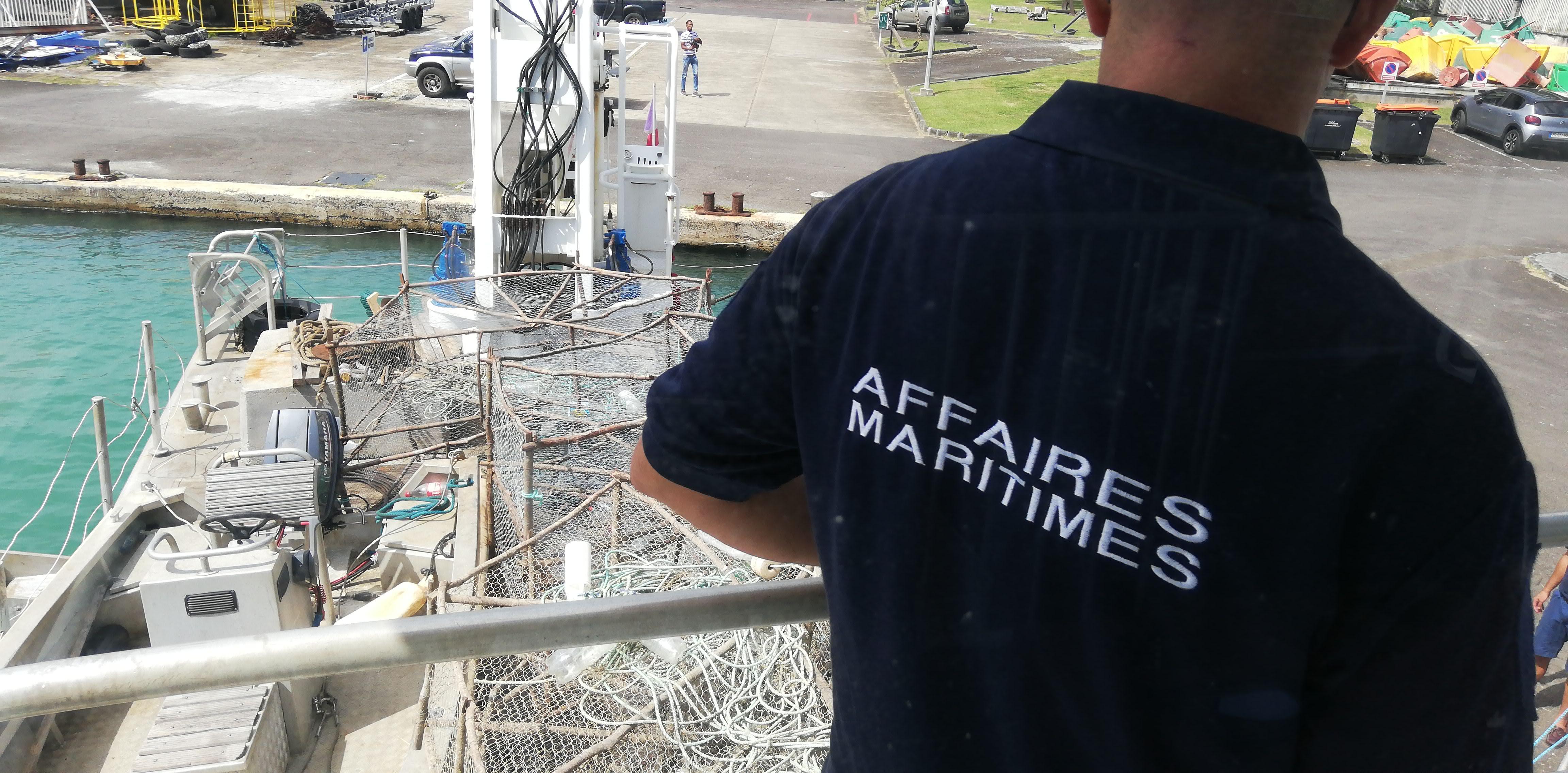 Opération en mer : 13 casiers saisis