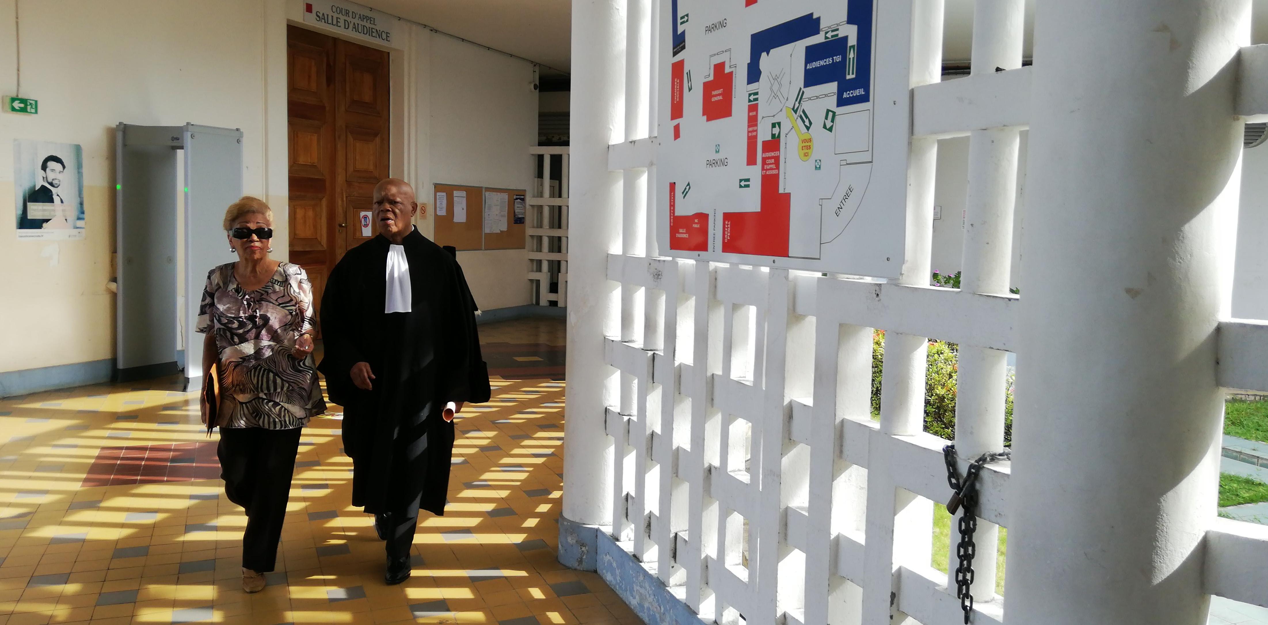 Lucette Michaux-Chevry devant les juges