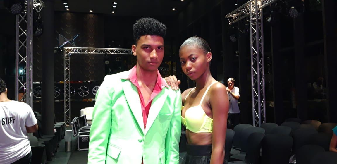 Alicia et Jordan remportent le concours Elite Model Look Antilles-Guyane