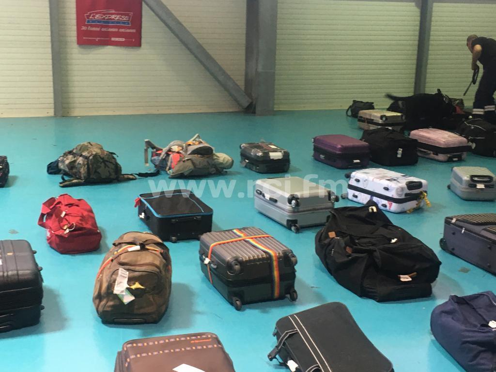 Une opération de contrôle douanier au terminal inter-île de Fort-de-France