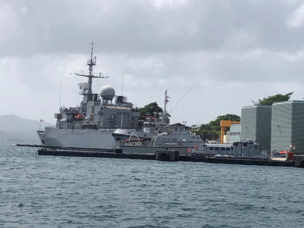 Les rescapés du Bourbon Rhodes sont arrivés en Martinique