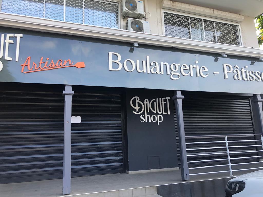 Braquage d'un magasin à Montgérald à Fort de France