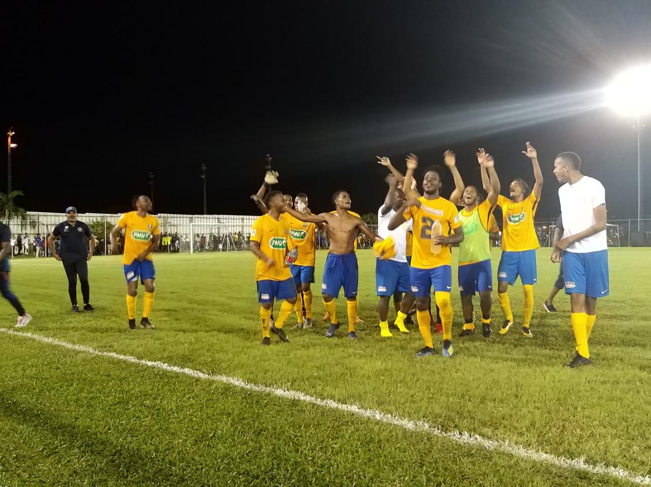 Coupe de France - zone Martinique : le Club Franciscain et le Golden Star en finale