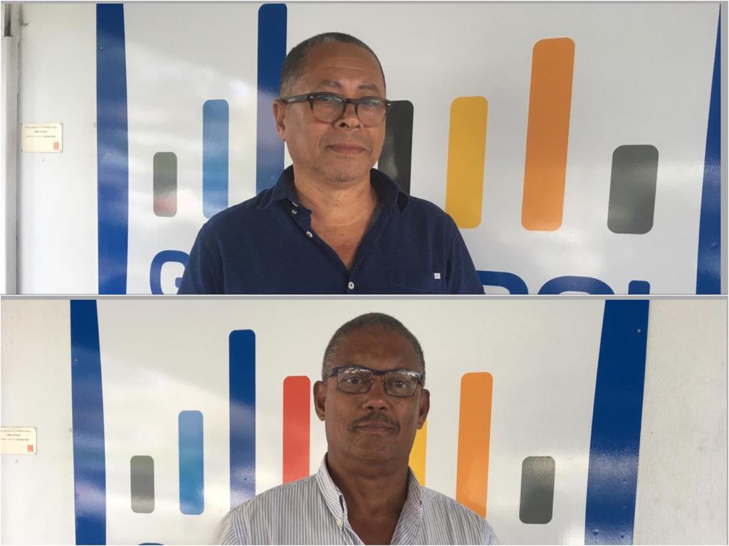 Municipales 2020 : Max Pied en campagne à Saint-Joseph, Victor Grandin au François