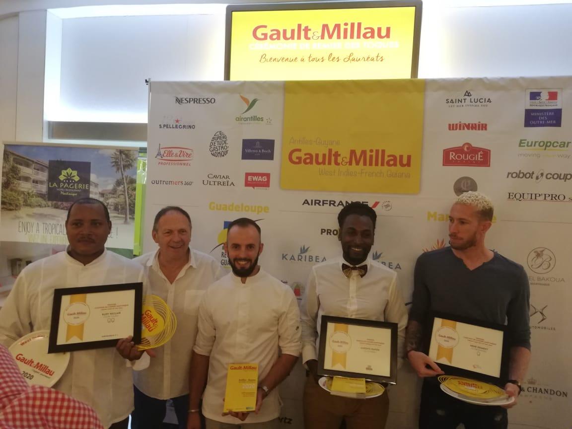 Le guide Gault et Millau remet des prix aux restaurateurs